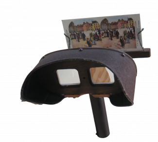 Reproduction Holmes Stereoscope